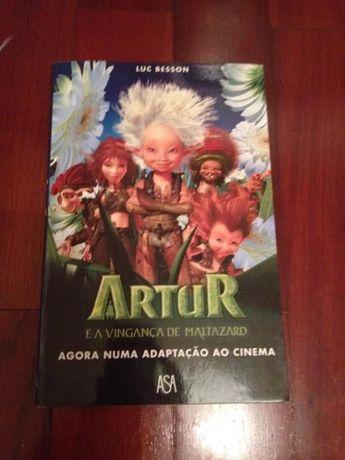 "Livro ""Arthur e os minimeus"""