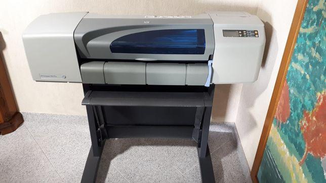 Plotter impressora HP DesignJet 500 plus de 24 polegadas