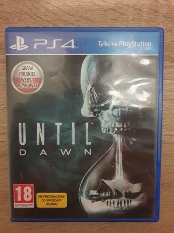 Until dawn playstation 4 ps4 gra konsola