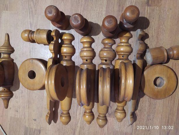Крепление для деревянного карниза