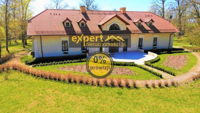 Przepiękny zabytkowy dwór 650 m2 z parkiem - Sokola Góra woj. łódzkie