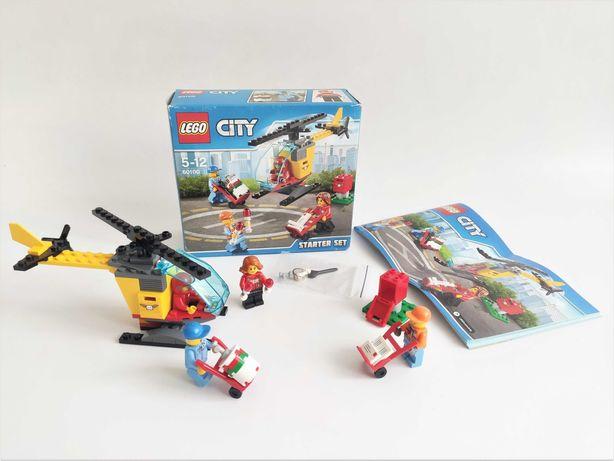 Lego City 60100 Airport Starter почтовая служба (100% полный)