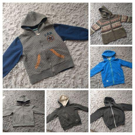 Bluza bluzy Reserved i inne dla chłopca r. 104 110