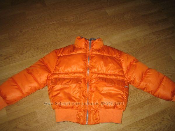 Куртка бомбер деми двухсторонняя Blukids 2 шт