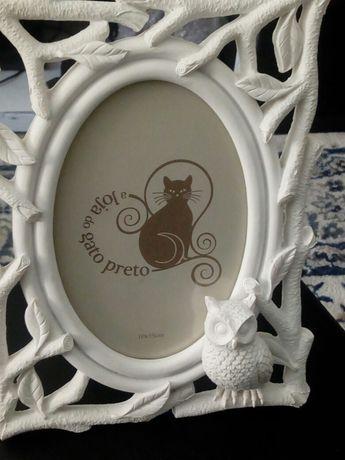 Porta tetratos  Gato Preto