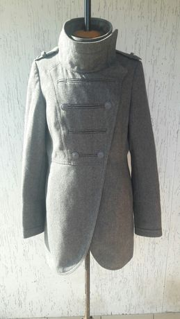 Пальто кашимір сірого кольору