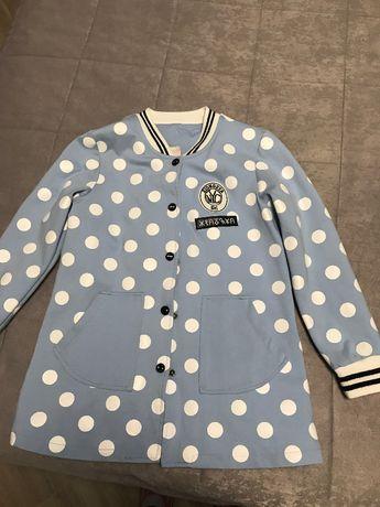 Продам трикотажный пиджак на девочку- подростка