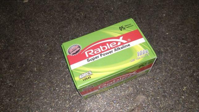 Щелочные Батарейки Rablex 40шт ААА