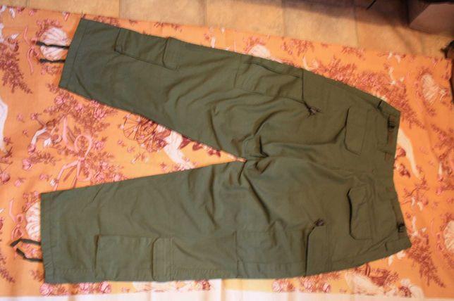 Orginalne spodnie Zielone