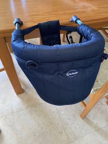 Cadeira portátil de refeição para bébe