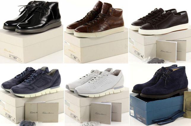 Эксклюзив! Ботинки, кроссовки, кеды Santoni и Fabi (всё Италия)!