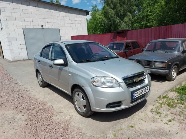 Chevrolet Aveo Газ/Бенз