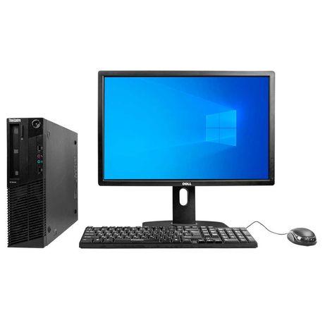 Системный блок Lenovo M91p CORE I5 2400 8RAM 120SSD Монитор Dell U2412