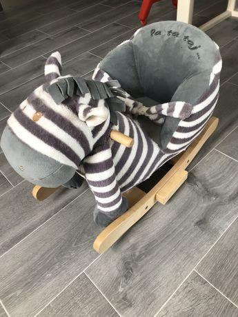 Bujaczek z fotelikiem Zebra