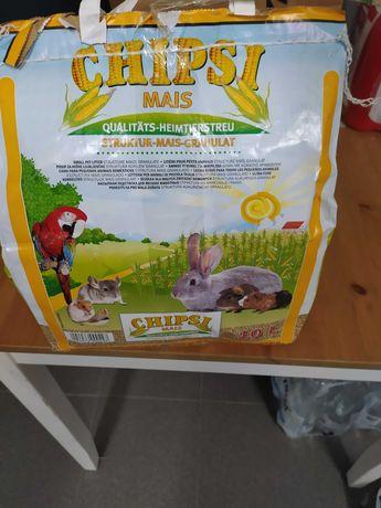 Ściółka Chipsi dla świnki morskiej