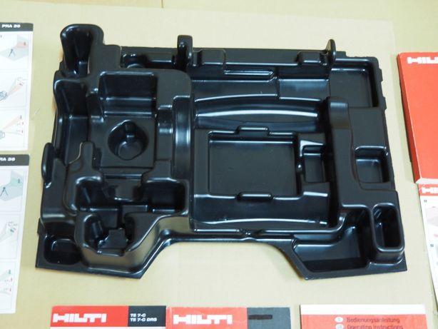 Wklad Wytloczka do walizka HILTI PR 35 PRI 36 PRE 3 laser niwelator