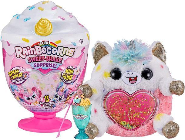 Интерактивная мягкая игрушка Единорог ZURU Rainbocorns sweet shake