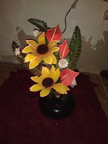 Kwiaty led lampka