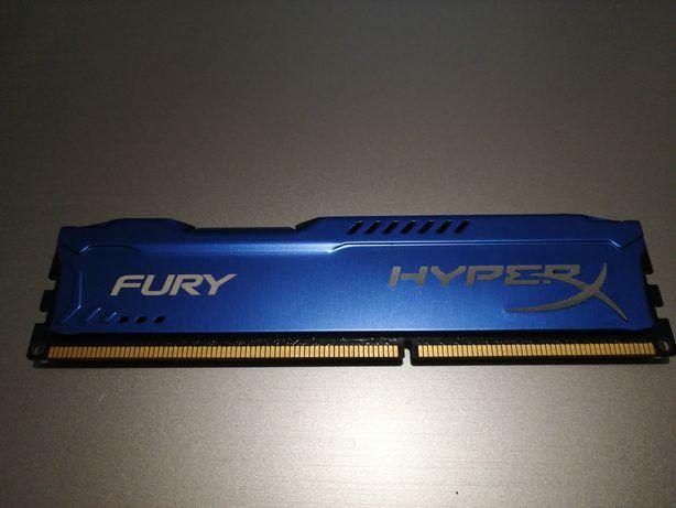 RAM Fury HyperX 4GB DDR3 1600Hz
