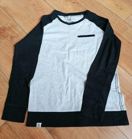 Szaro czarna bluza