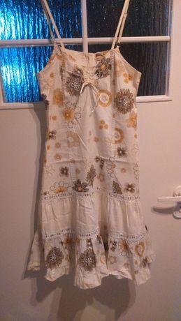 sukienka letnia na ramiączkach rozm. 38