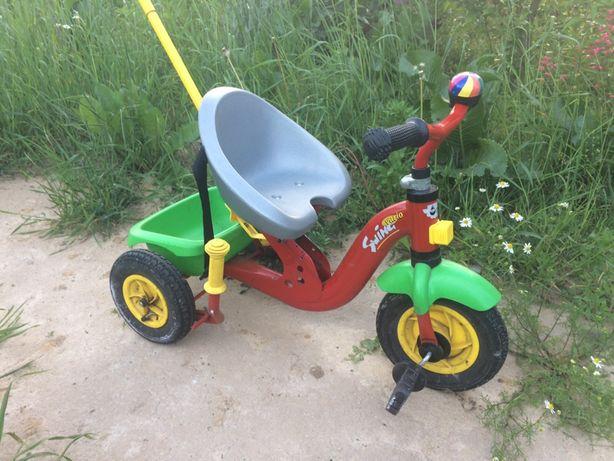 детский трех колесный велосипед Rolly Toys Swing Vario