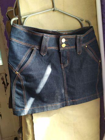 Продам юбку джинсовую