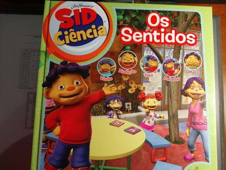 Livros da colecção Sid Ciência da Science4you
