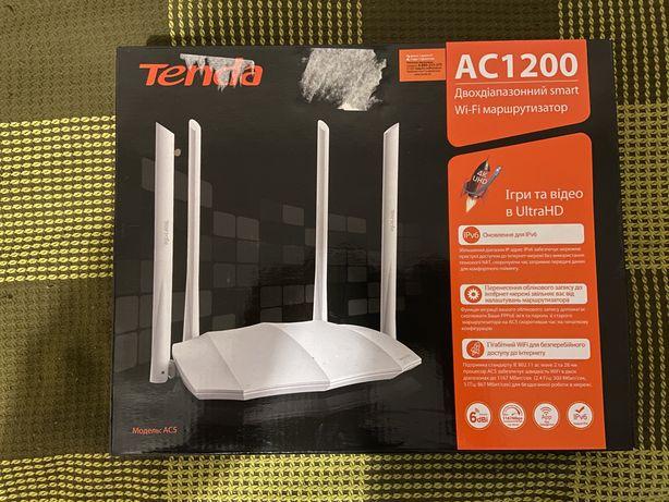 Tenda AC5 v3 Двохдіапазонний wifi роутер 2.4Ггц(b,g,n), 5Ггц(ac)