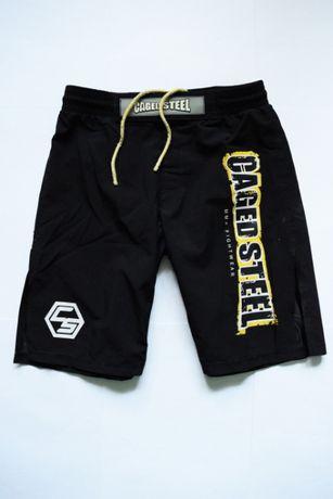 MMA Fightwear Caged Steel мма джитсу бокс каратэ борьба октагон UFC