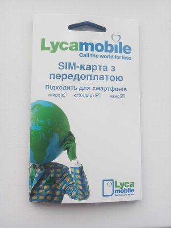 3СИМ-карта Lycamobіle