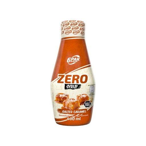 6PAK Zero Syrup Salted Carmel 400 ml ODB. OSOB. BIAŁYSTOK Białystok - image 1