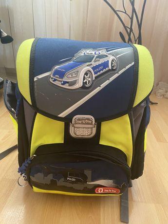 Школьный каркасный портфель для мальчика