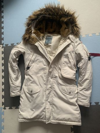 Kremowa marki Alpha Industries Polar Jacket r M