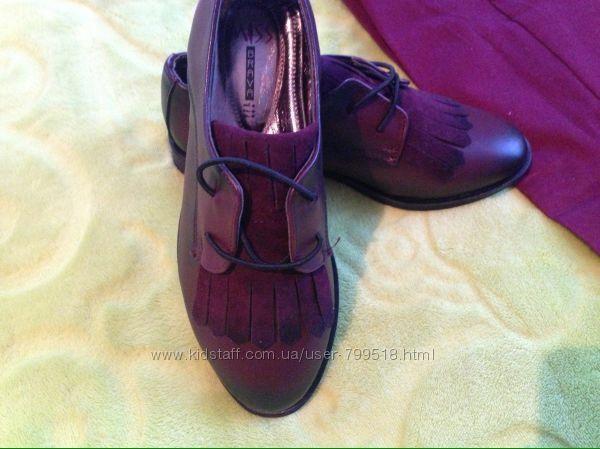 Мягусенькие туфли на мальчика 31 р, Турция