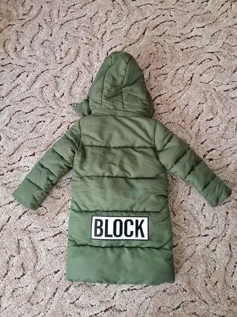 Парка, куртка зима 5 лет 110 см