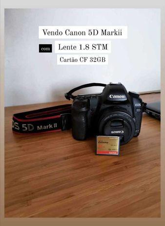 Canon 5D Mkii Com Lente 50mm