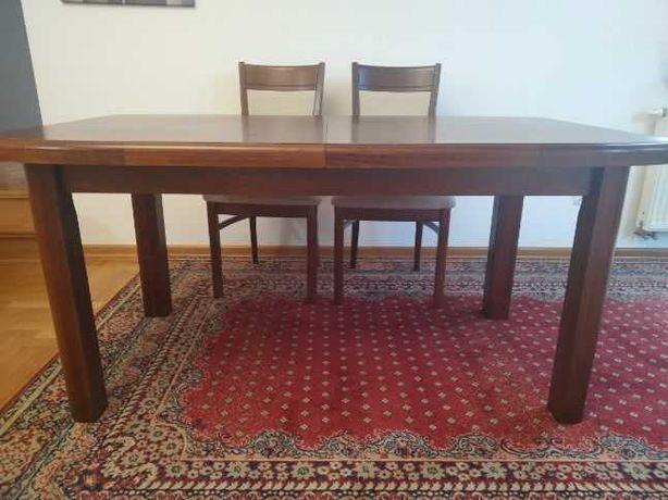 Stół rozkładany duży z drewna bukowego