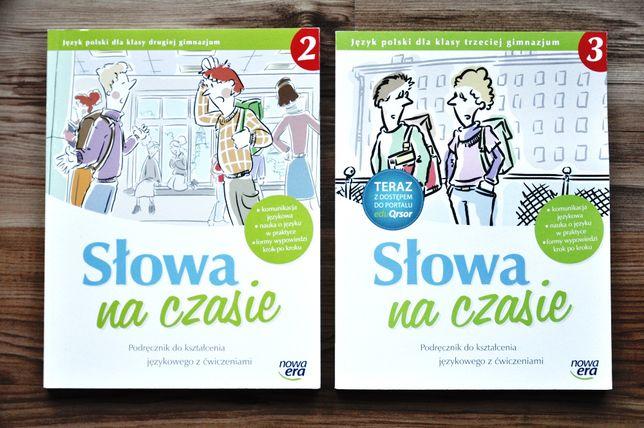 SŁOWA na CZASIE 2 podręcznik ćwiczenia POLSKI gimnazjum NOWA ERA nowy