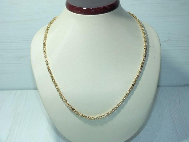 **Nowy złoty łańcuszek splot królewski  p.585 -15,47g-Lombard Stówka**