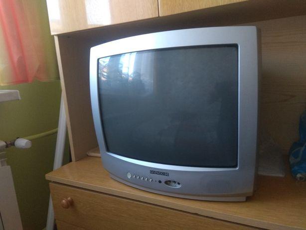 Telewizor TV 21 cali+ dekoder cabletech, bdb stan!