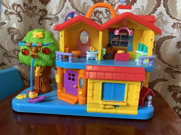 «Загородный дом»,развивашки, игровой ,интерактивный домик,музыкальный.