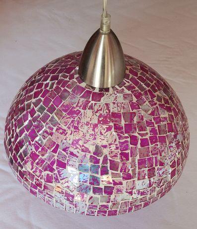 Lampa wiszaca w stylu glamour