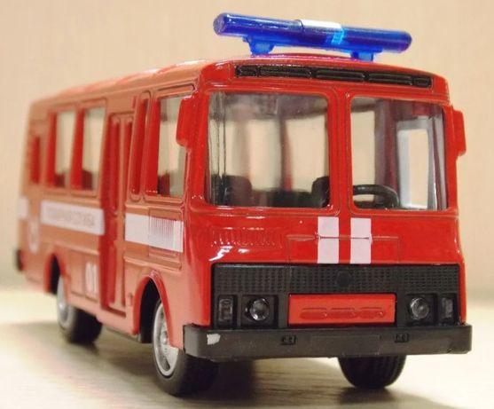 Автобус пожарный ПАЗ Play Smart Автопарк