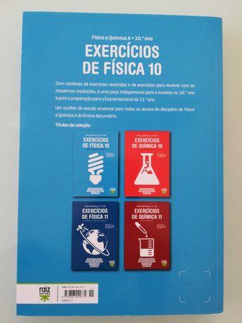 Livro de exercícios de Física 10.ano