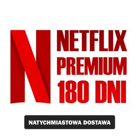 NETFLIX PREMIUM 180 DNI Smart TV / Konsola / Automat w 2 min !