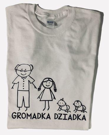 Koszulka z nadrukiem Gromadka Dziadka