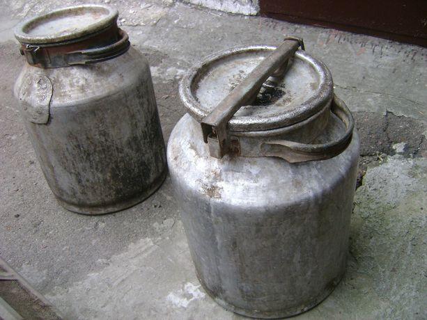 Алюминиевый молочный бидон