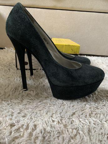 Туфли нат замша Antonio Biaggi