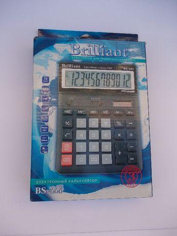 Калькулятор Brilliant BS-444 12-ти разрядный Новый БЕСПЛАТНАЯ ДОСТАВКА